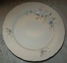 Royal Karlsbad Blue Fantasy Scalloped 2 Dinner Plates