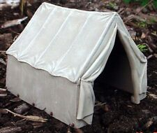 Tent Premium Canvas Style Miniature Highly Detailed 1/24 Scale G Scale Diorama