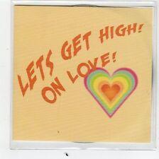 (FC944) Edward Sharpe, Let's Get High! On Love! - 2013 DJ CD