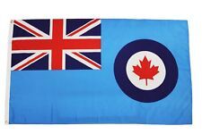 ROYAL CANADIAN AIR FORCE ( Old 1940 - 1965 )  3' X 5' Feet FLAG BANNER .. New