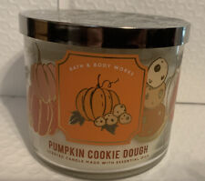 Bath And Body Works Pumpkin Cookie Dough 3-wick Candle