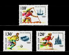 SELLOS OFERTA!!!  RUSIA 1991 5884/86 OLIMPIADAS BARCELONA 92 3v.