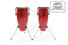 Congas drum junior children conga drum **NEW** red