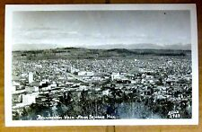 RPPC BELLINGHAM WASHINGTON from SEHOME HILL Cascade Vintage Photo Postcard USA
