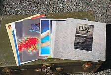 Rush Heart Yes Fleetwood Mac Concert Program Booklets Rock N Roll Memorabilia