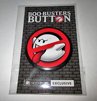GEEK FUEL EXCLUSIVE - BIG, BOO-BUSTERS BUTTON - VERY UNIQUE