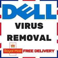 DELL WINDOWS VIRUS REMOVAL - ANTIVIRUS/ANTI-MALWARE/ANTI-SPYWARE XP VISTA 7/8/10