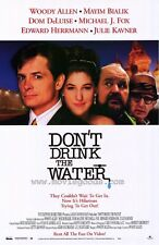 DON'T DRINK THE WATER Movie POSTER 27x40 Micheal J. Fox Ed Herlihy Josef Sommer