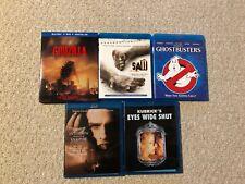 BluRay Lot: Godzilla, Saw, Ghostbusters, Interview with Vampire, Eyes Wide Shut