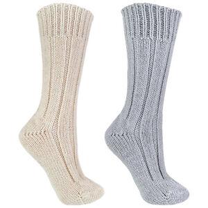 Sock Snob - Ladies Lightweight Soft Cosy Warm Knitted 100% Pure Wool Socks