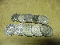 Anlegerposten , USA Silber , 10 x Half / Kennedy , 115 gramm , Investorenpaket