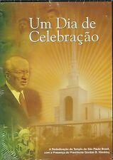 GORDON HINCKLEY Um Dia De Celebracao DVD Temple in Sao Paulo Brazil 2004