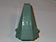 Lego Sand Green Tower Castle Roof 6 x 8 x 9 lg57