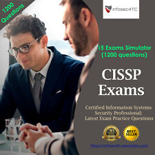 ISC2 CISSP: Latest Exam Preparation Questions (1200 Questions)