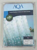 AQA tenda x doccia in vinile con ganci inclusi varie misure PEVA modello GRU new