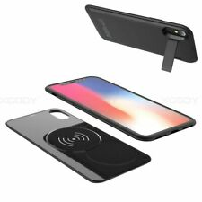 Wireless External Battery Charger Case Battery Charging Pack for iPhone X US