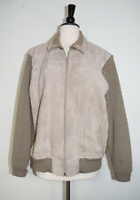 VINTAGE Chartwell Geniune Suede Leather Zip Up Jacket Women's Size XL