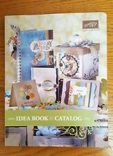 2010-2011 Stampin' Up! Idea Book Catalog Rubber Stamps Scrapbooking Cards.
