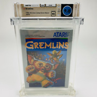 Gremlins - Atari 5200 Silver Box 1986 Movie Graded Factory Sealed WATA 9.0 NS