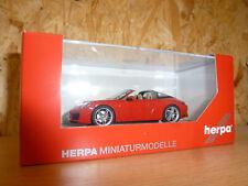 Herpa 071147 Porsche 911 TARGA 4 Indischrot