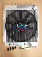 Aluminium Radiator&Fan 1964 1965 1966 64 65 66 FORD MUSTANG V8 289 302 WINDSOR
