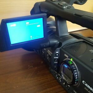 Canon XH A1 MiniDV 3CCD Camcorder XHA1 Camera Tested Works *Read Description*