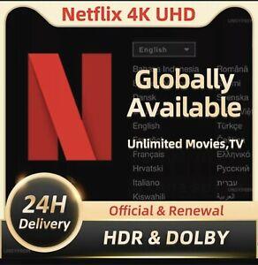 Netflix 4k 1 Years