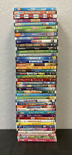 Lot Of 40 Kids DVD's Disney Nickelodeon Included Used Lot