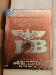 Inglorious Basterds Blu-ray Steelbook, Mint/Sealed, French edition