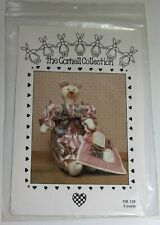Ursula Bear and Quilt Stuffed Toy Doll sewing pattern