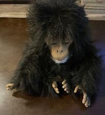 Hasbro FurReal Tiger Electronics CUDDLE CHIMP Chimpanzee Talking Monkey