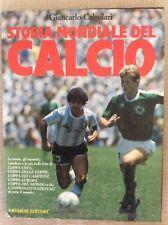 LIBRO CALCIO STORIA MONDIALE DEL CALCIO -1986 - G. CALZOLARI MARADONA ANTOGNONI