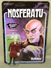 """NOSFERATU COUNT ORLOK Halloween Series ReAction Super7 Retro 3.75"""" Figure Funko"""