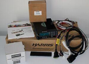 Harris M7300 764-870MHz OpenSky Front Mount MAMW-SDMXX CH-721 Spkr Mic Cables