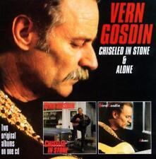 Vern Gosdin - Chiseled In Stone / Alone (NEW CD)