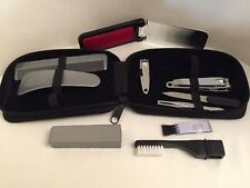 UNISEX MEN WOMEN 9 piece, light weight Grooming Kit ~ N E W ~ Perfect for Travel