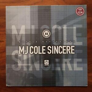 "MJ COLE Sincere AM:PM 1998 UK Original METRIX 582 691-1 VINYL 12"" GARAGE 12"" EX"