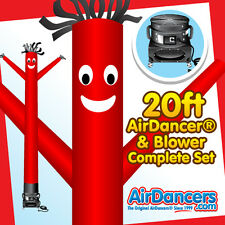 Red Air Dancer ® & Blower 20ft - Complete Sky Dancer Set