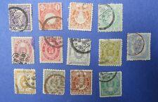 Japan Stamps Scott 72-84 (Lot 03)