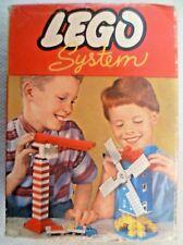 Vintage Lego - System Set #283 20 Blue Ridge & Valley Roof Bricks  C1960-1965 #2