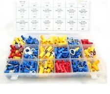 360 ELECTRICAL WIRE TERMINAL ASSORTMENT - SPADE, BULLET, INLINE Crimp, Connector