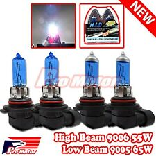 9006 HB4 9005 HB3 9140 9145 65W 55W High Low Beam Bulbs Combo Halogen Gas Xenon