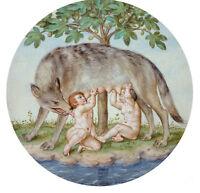 Nice Oil painting georg pencz - 罗穆卢斯和瑞摩斯 - Romulus and Remus wold & children art