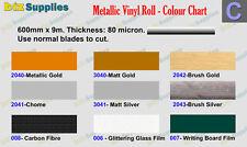 600x10m Chrome & Metallic Sign Vinyl Roll for Cutting Car Sticker,Banner cutting