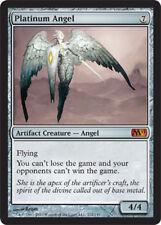 [1x] Platinum Angel - Foil [x1] Magic 2011 Slight Play, English -BFG- MTG Magic