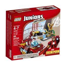 Lego Juniors Marvel 10721 Super Heroes Iron Man vs. Loki NISB