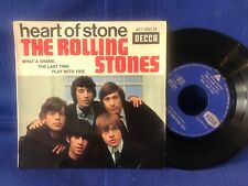 ROLLING STONES EP HEART OF STONE 457.066 ORIG FRANCE 3-65 EXC-