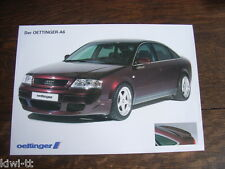 Oettinger AUDI a6 (serie c5) Prospetto/brochure/DEPLIANT, D