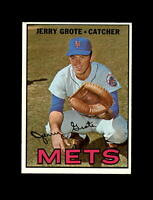 1967 Topps Baseball #413 Jerry Grote (Mets) EXMT