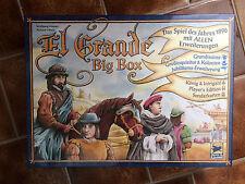 El Grande Big Box DEUTSCH NEU mit ALLEN Erweiterungen Hans im Glück